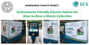 e-waste collection vehicle