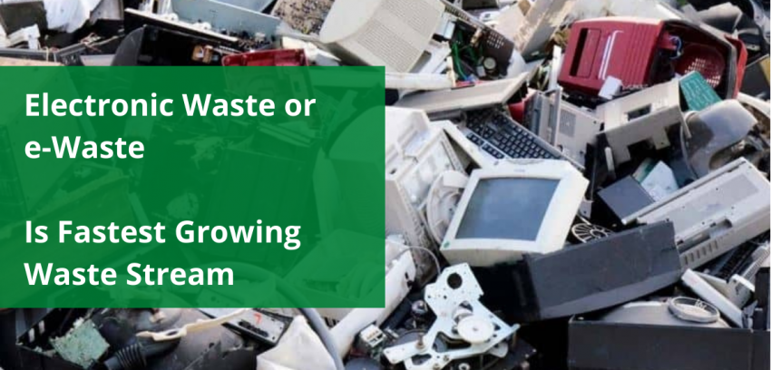 Growing e-Waste: A potential risk to Environment