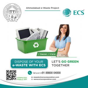 Dispose of ewaste with ECS